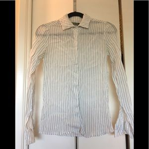 Annie Hall-style Reformation silly button up